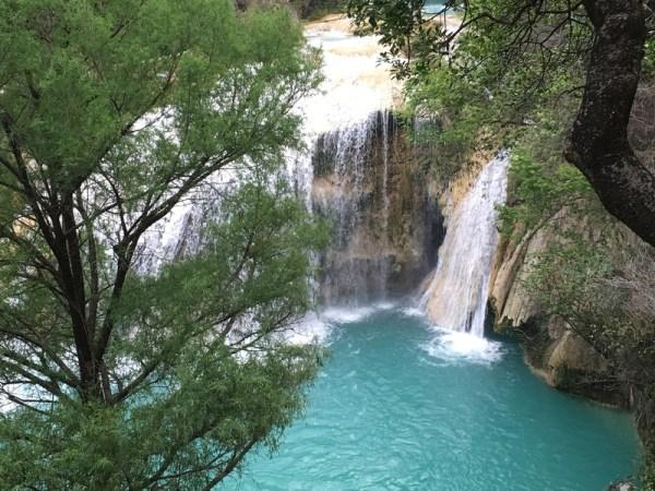 Cascadas el Chiflon