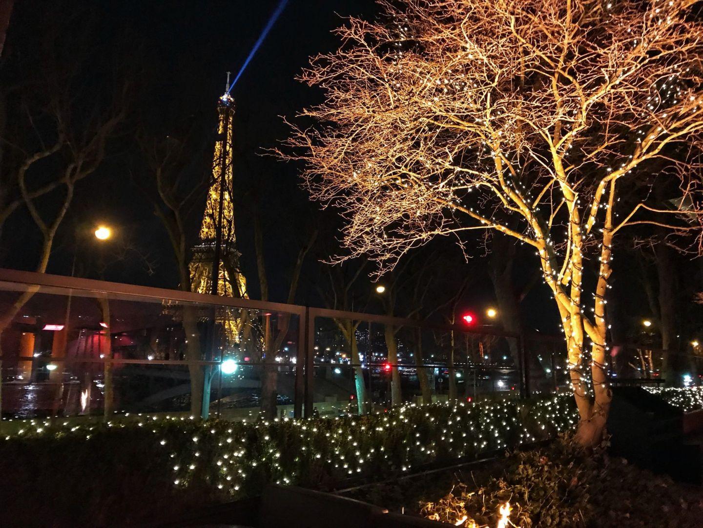 Eiffel Tower View from Monsieur Bleu