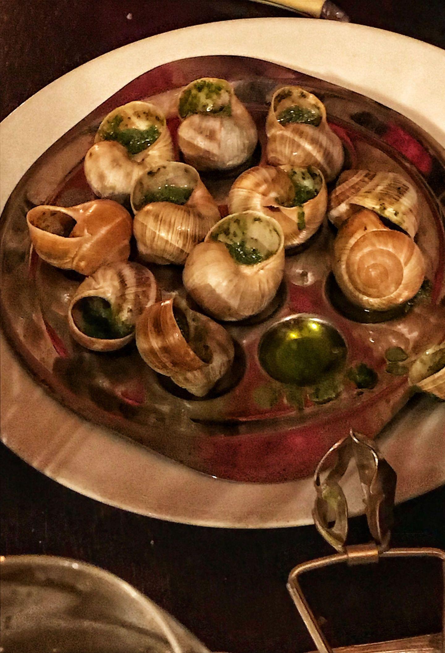 Escargot Au Vieux Paris D'Arcole
