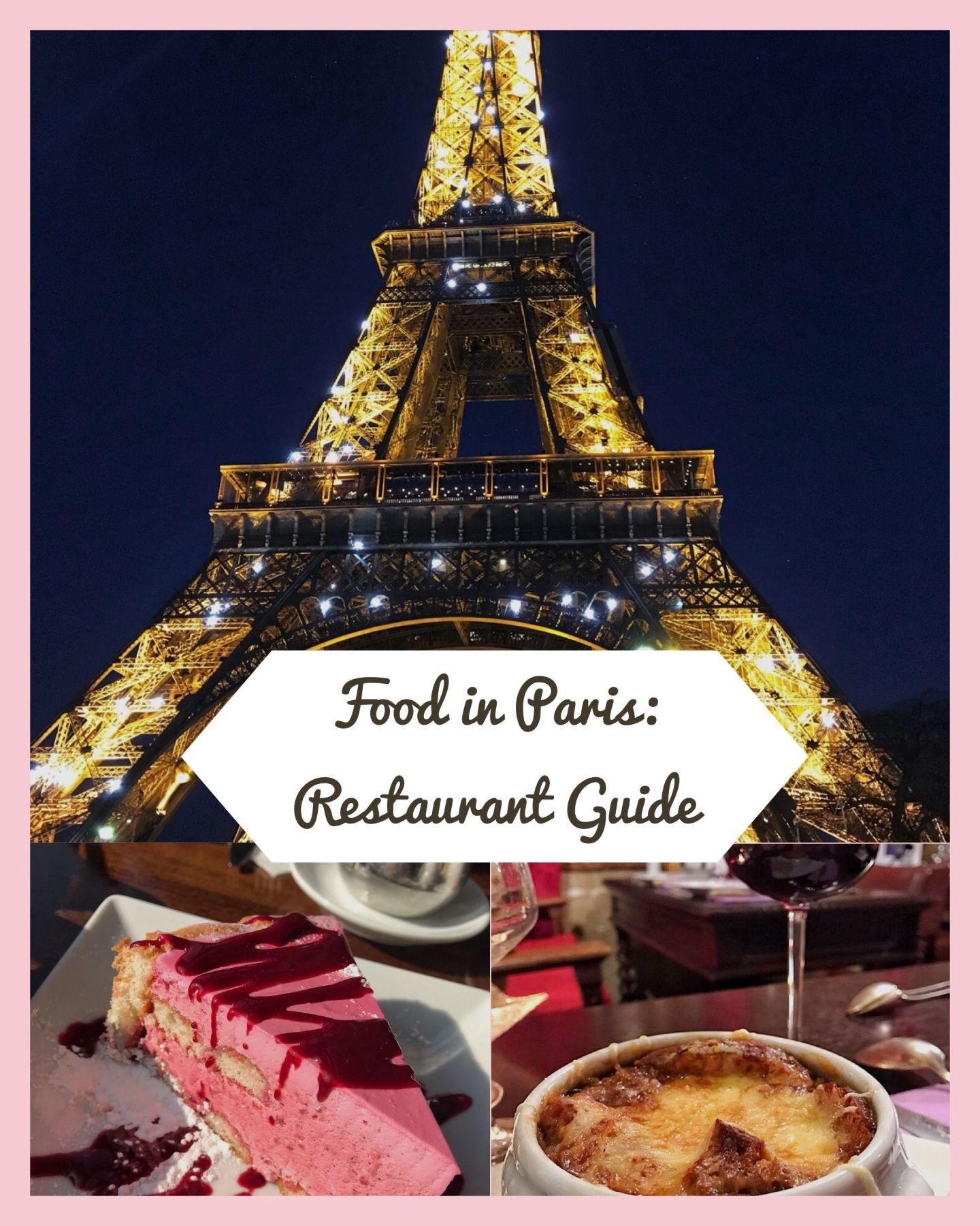 Paris Foodie Guide - Paris Restaurants with Views & Where the Locals Eat in Paris too!