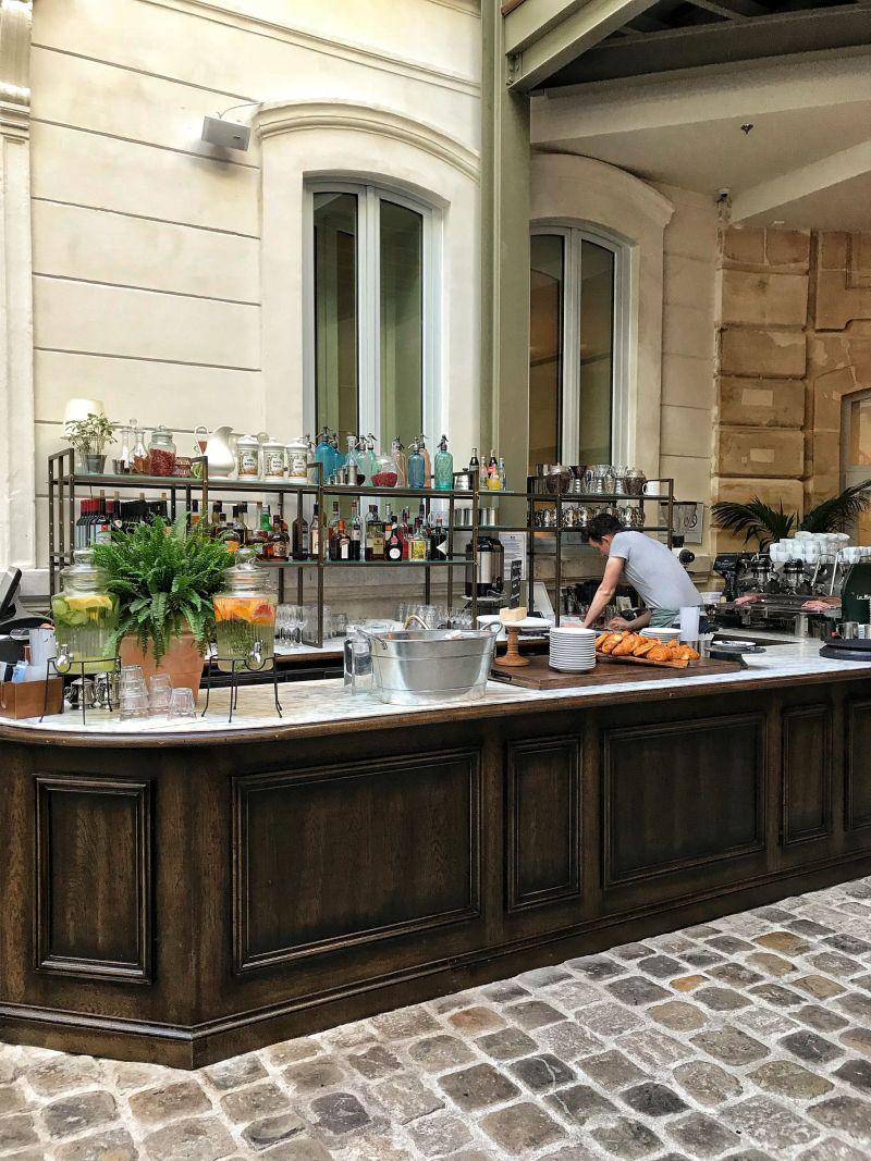 Hoxton Hotel Paris Cafe Lobby