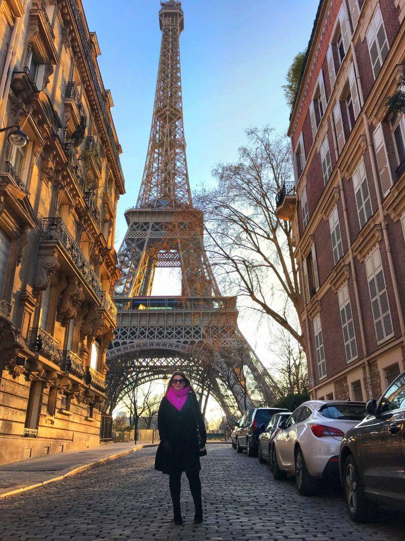 Instagram spots in Paris near The Eiffel Tower