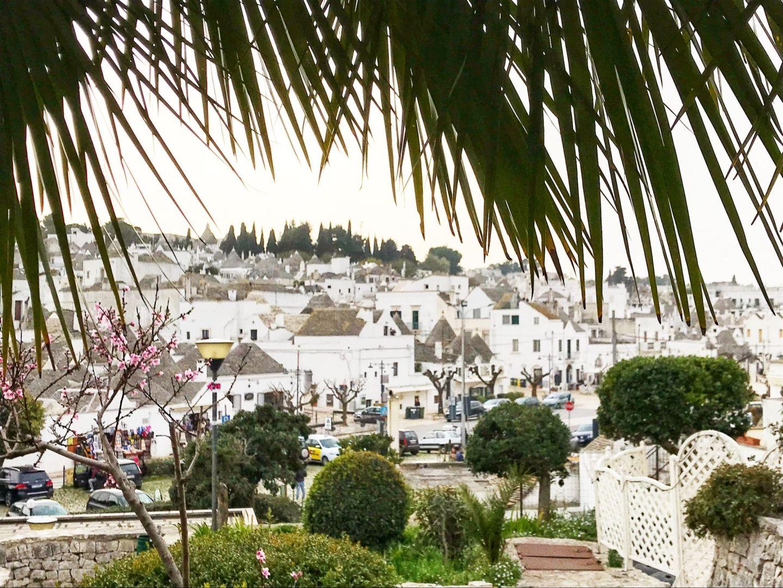 Nature views of Alberobello