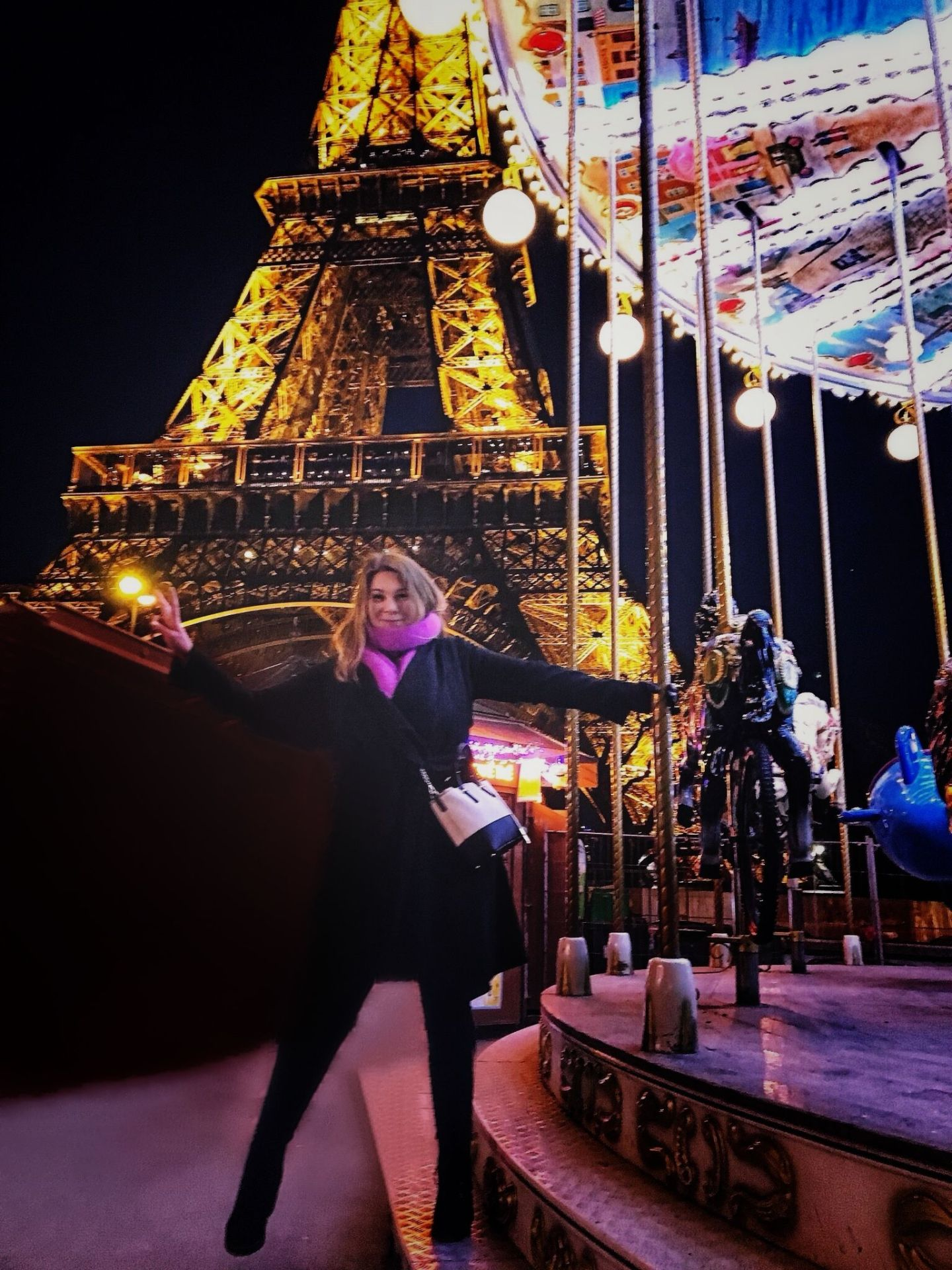 Me with my Kate Spade at The Eiffel Tower