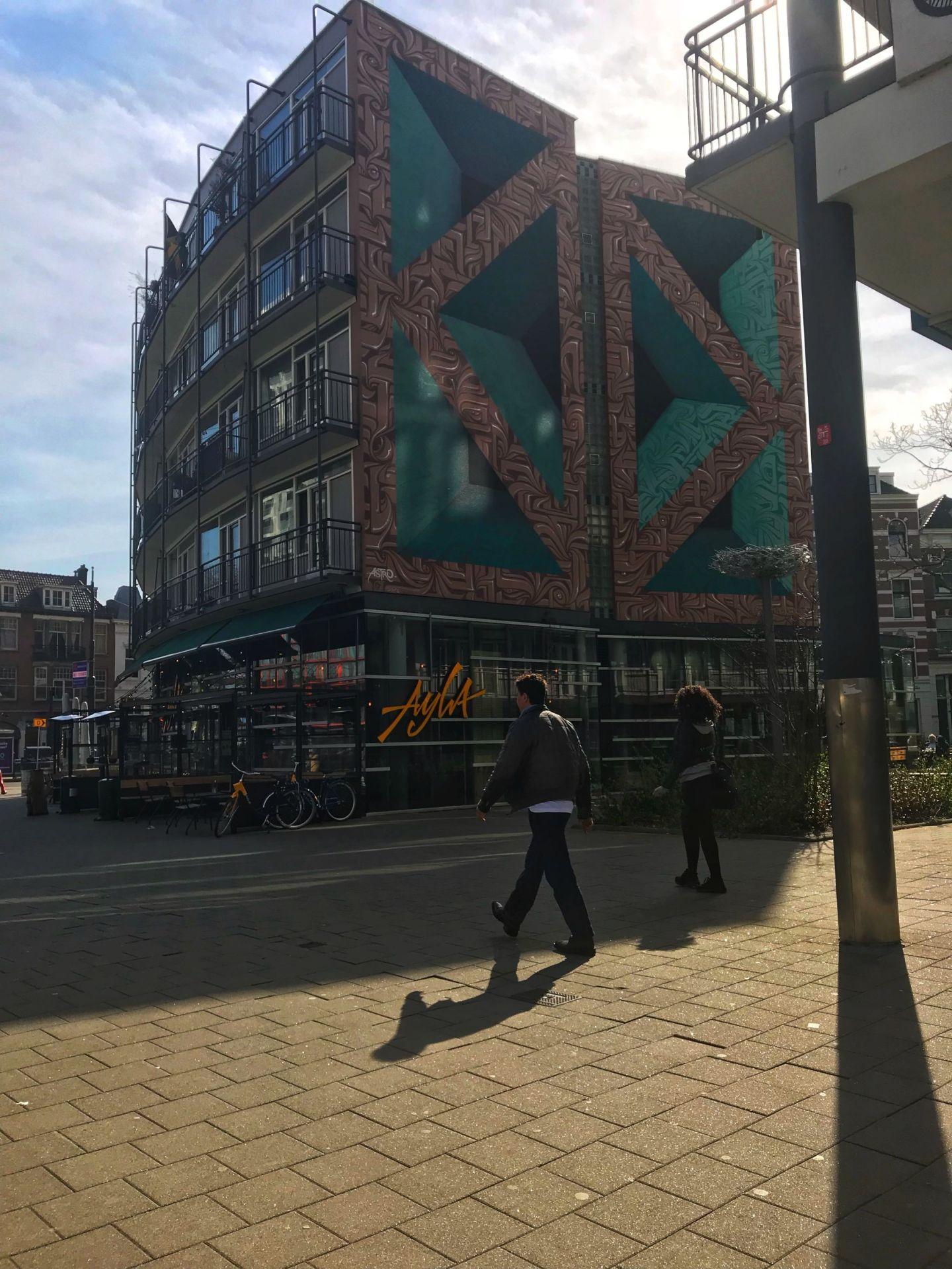 3d graffiti art Rotterdam Holland