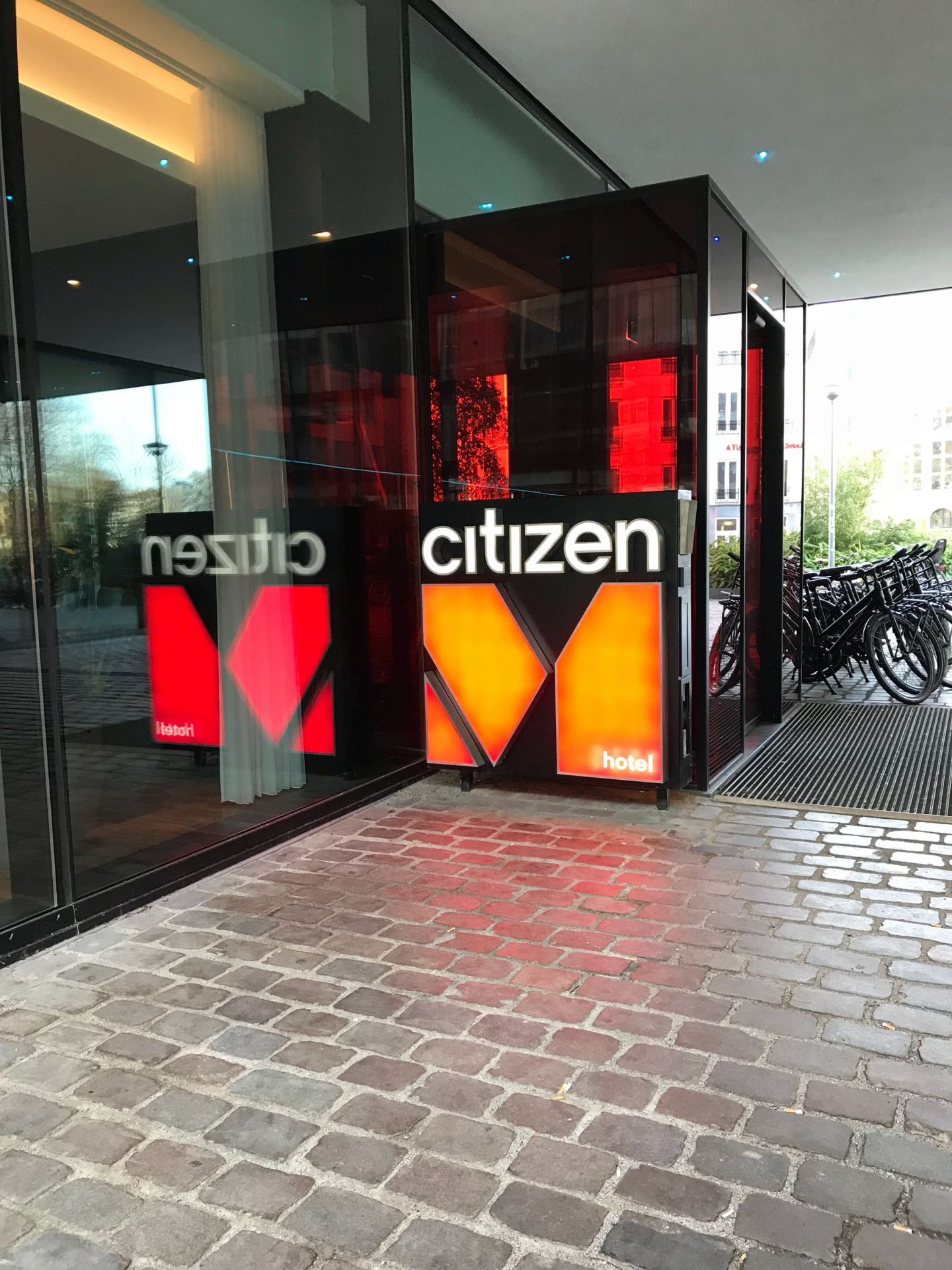 Citizen M Outside View Rotterdam