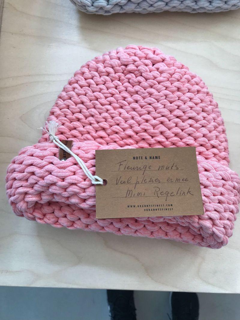 Grannies Finest Woolen Hat made by Mimi Regelink