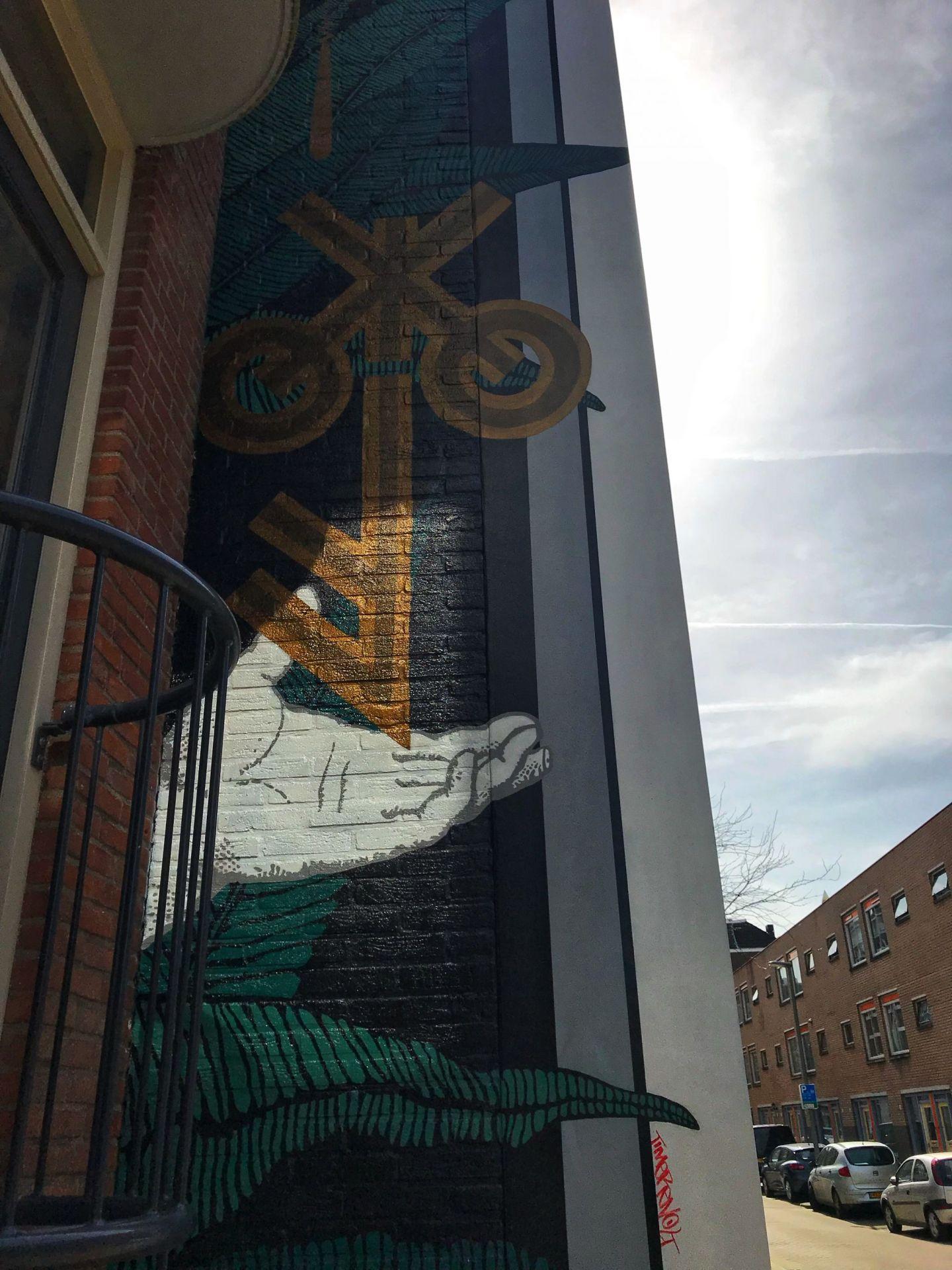 I've got the key Rotterdam street art
