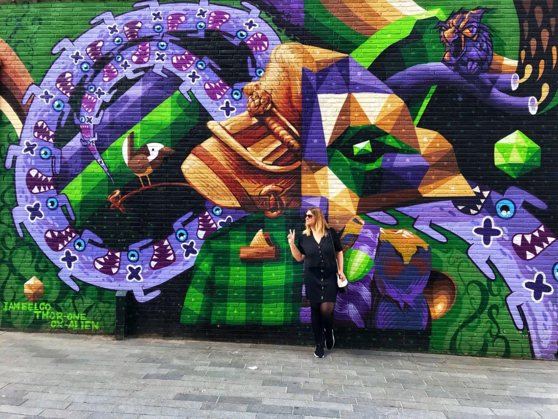 Jamelco Thor One Alien Street Art Rotterdam City