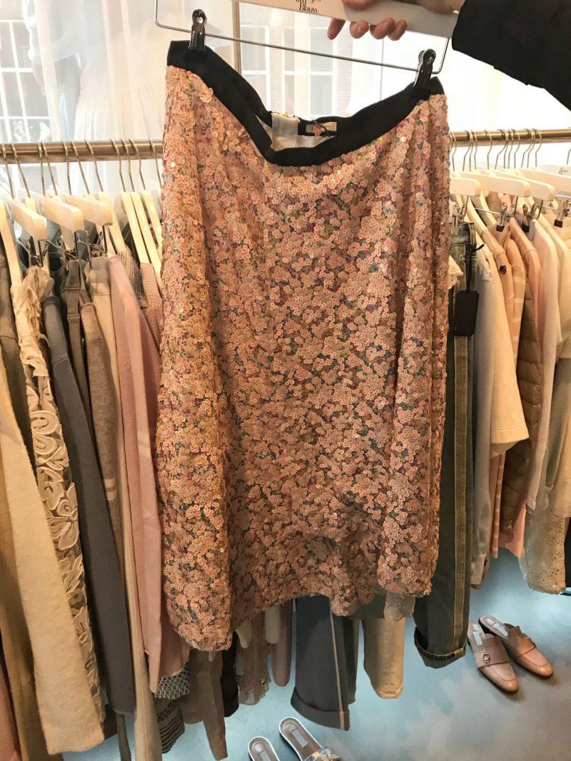 Sequin skirt Meisjes Van Blauw Eindhoven