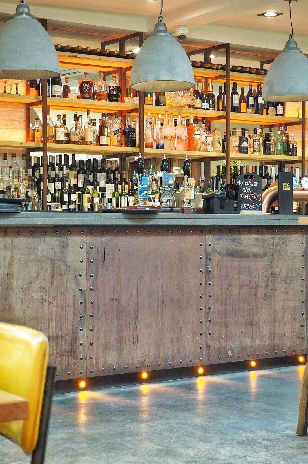 185 Watling Street Bar Area