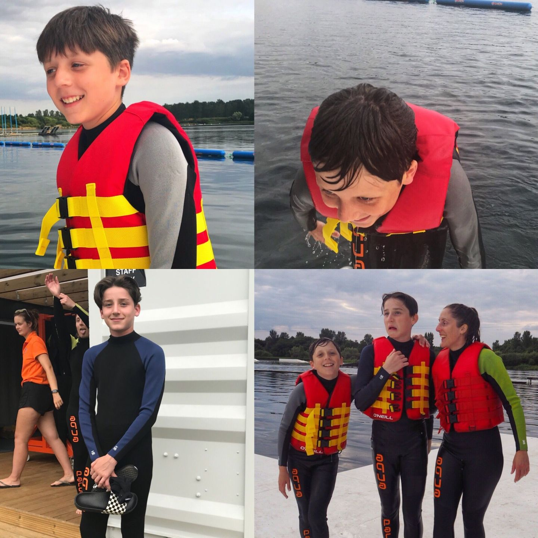 Bring out their fun side Aqua Parcs Willen Lake Milton Keynes