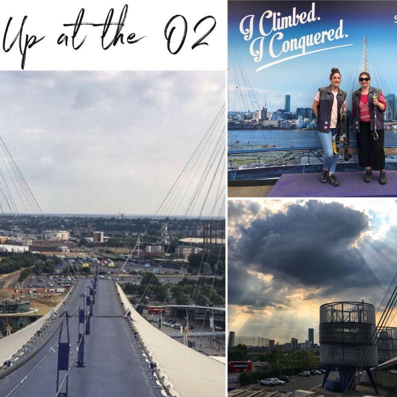 Climbing up at the O2 London
