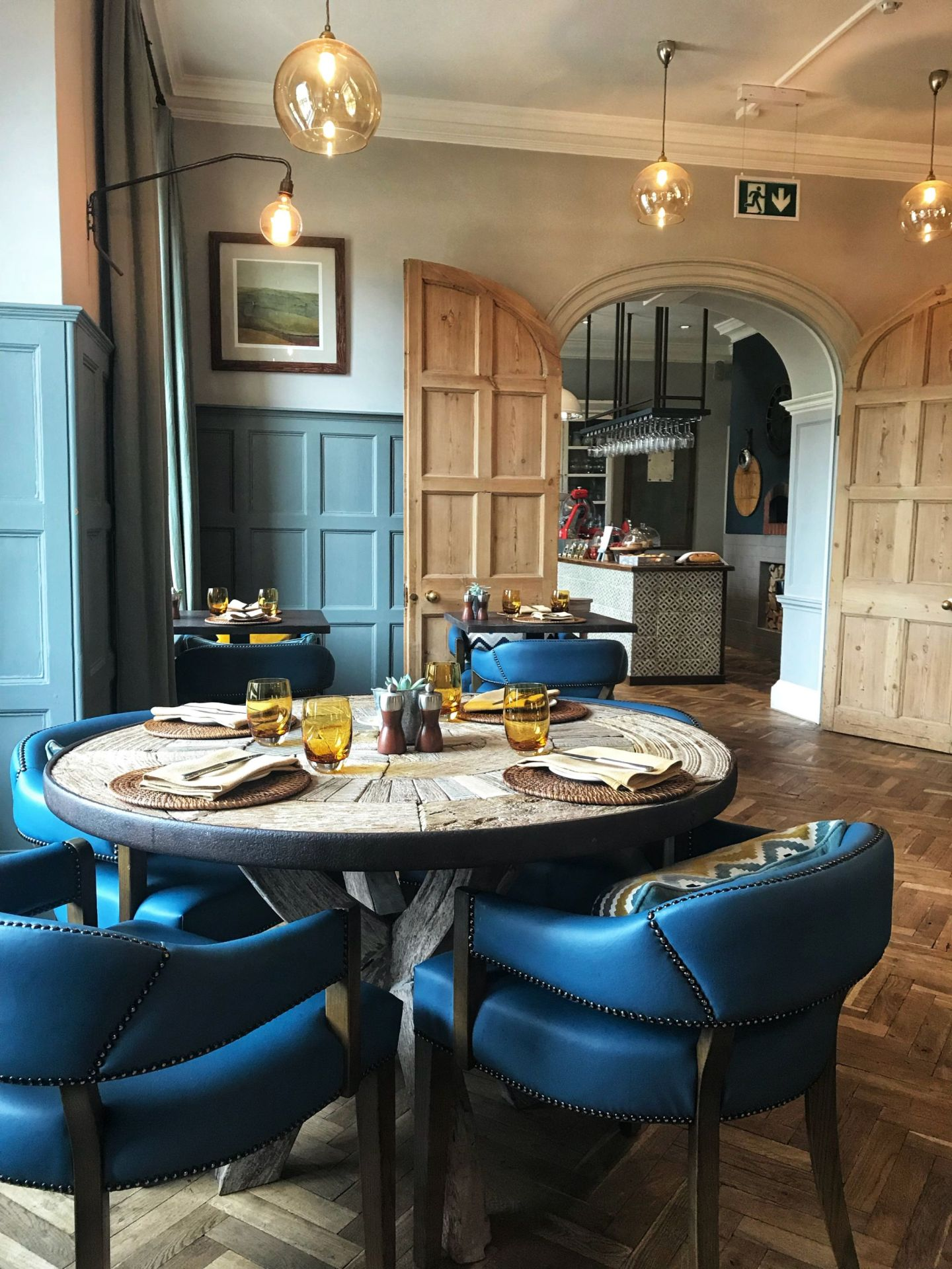 Dining at The Painswick Restaurant Cotswolds