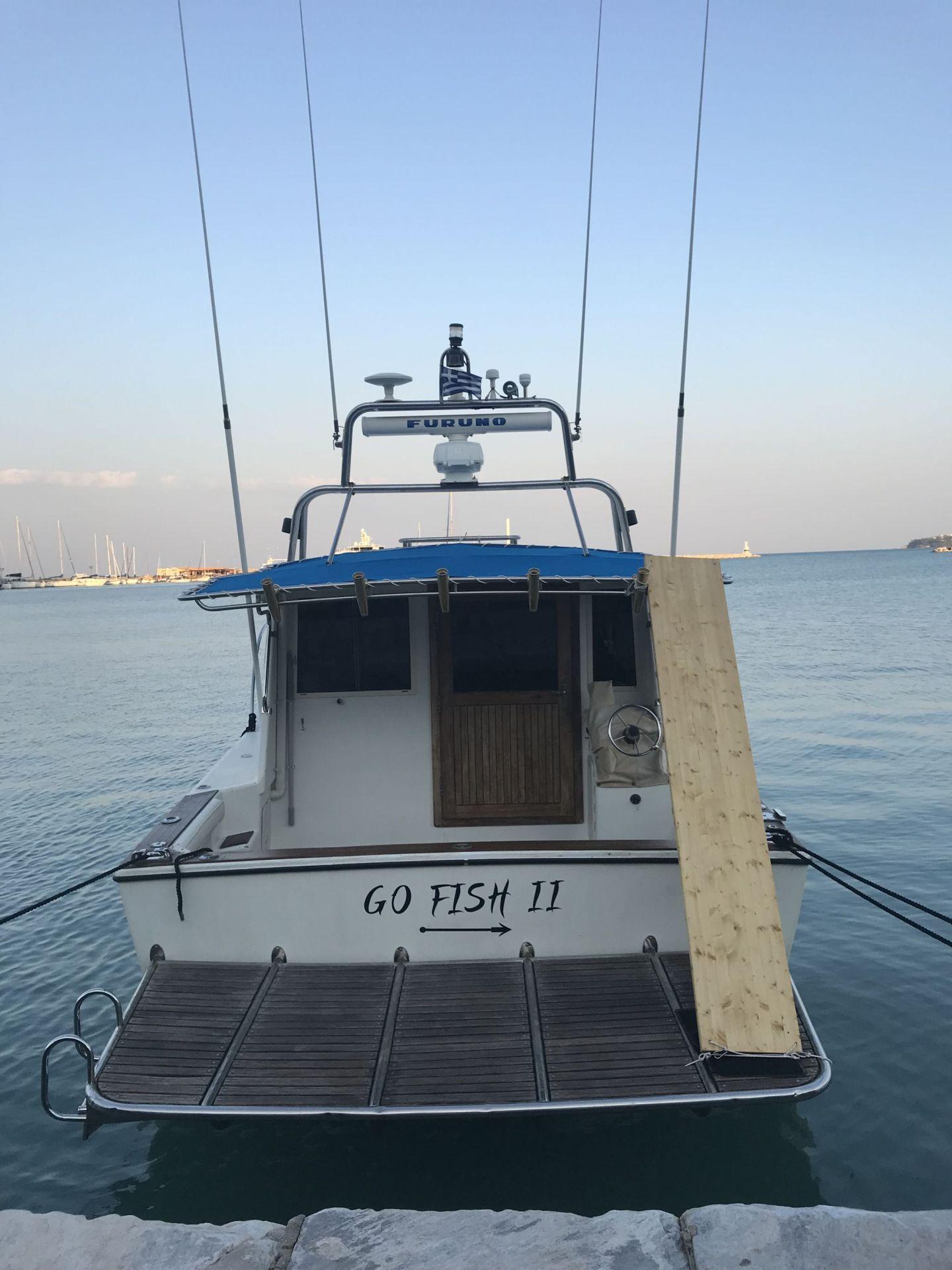 Go Fish II in Zante Greece