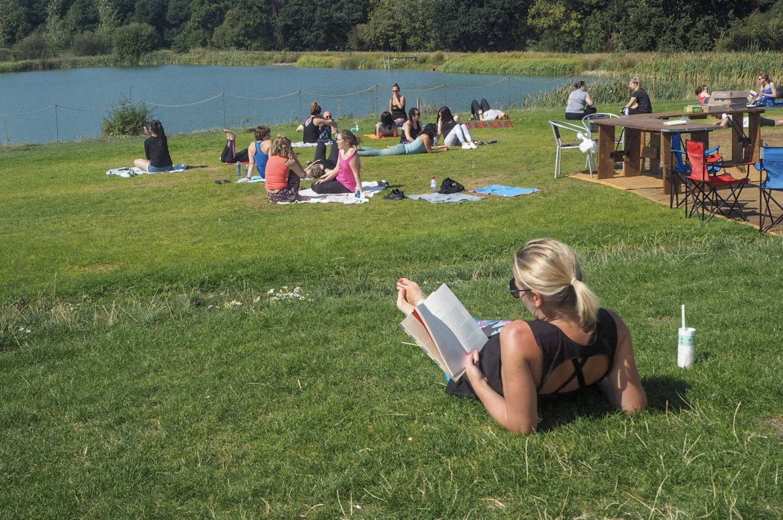 super chilled summer yoga festival
