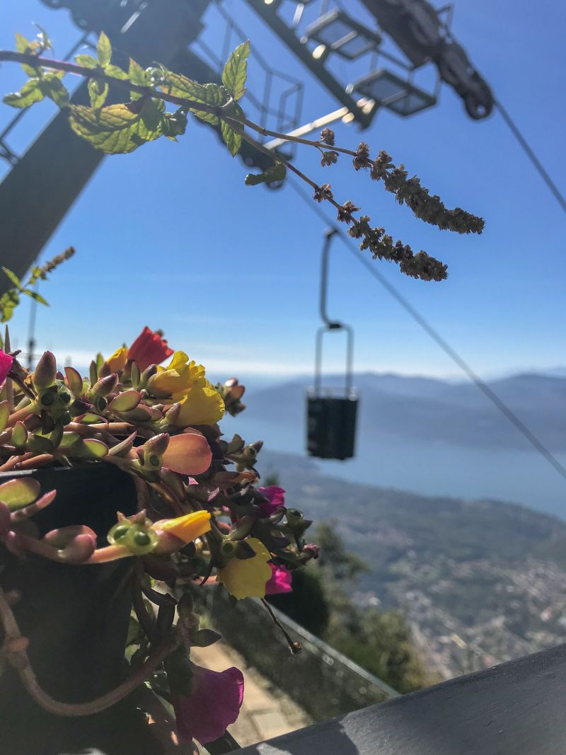 Braving the bucket lifts of Lake Maggiore