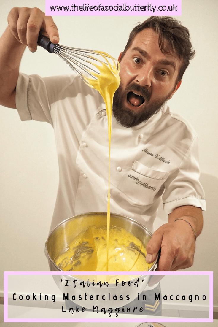 Italian Food Cooking Masterclass in Maccagno, Lake Maggiore
