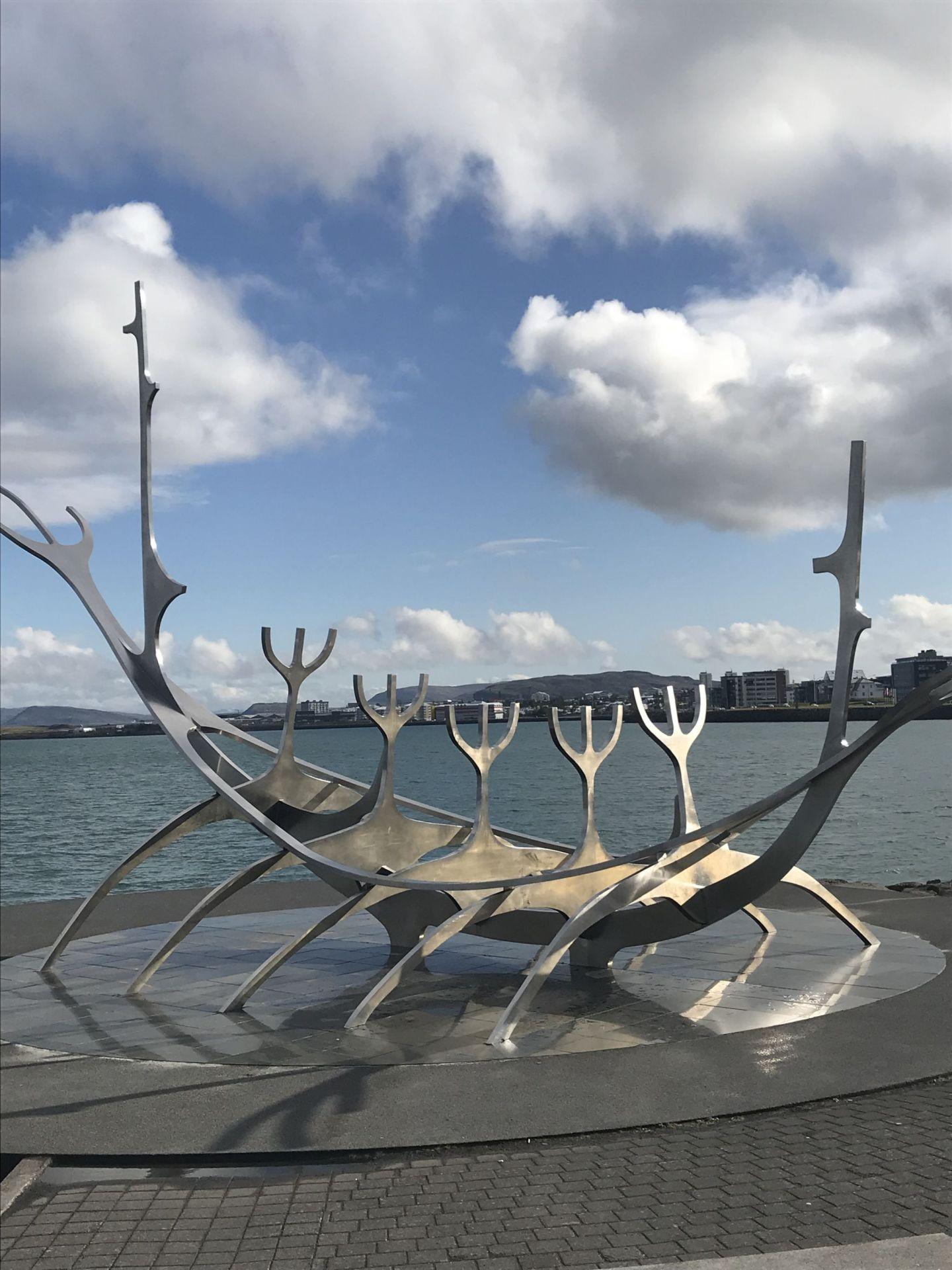 Sun Voyager Statue Reykjavik Iceland
