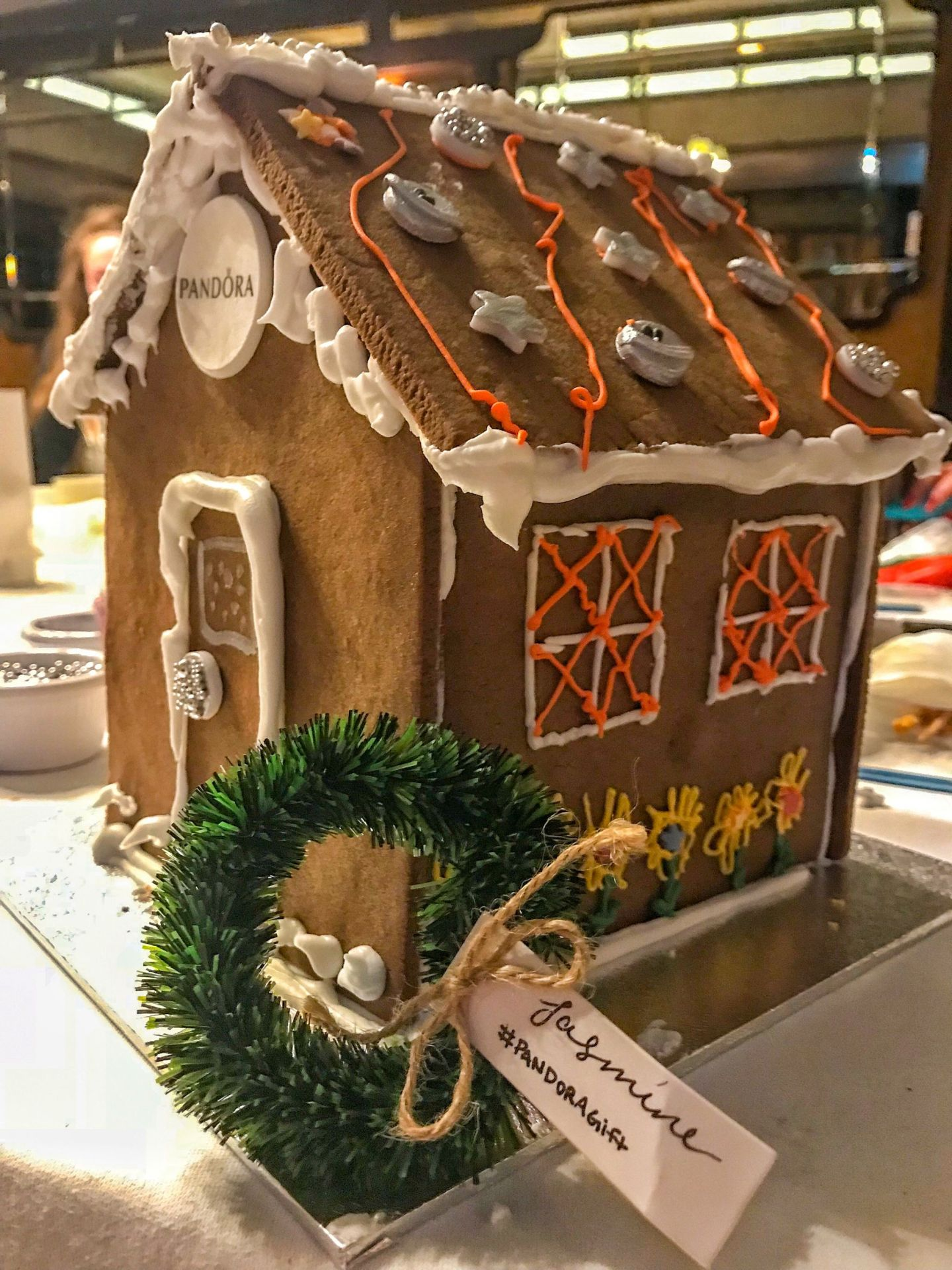 Charming Festive Gingerbread House Event with PANDORA