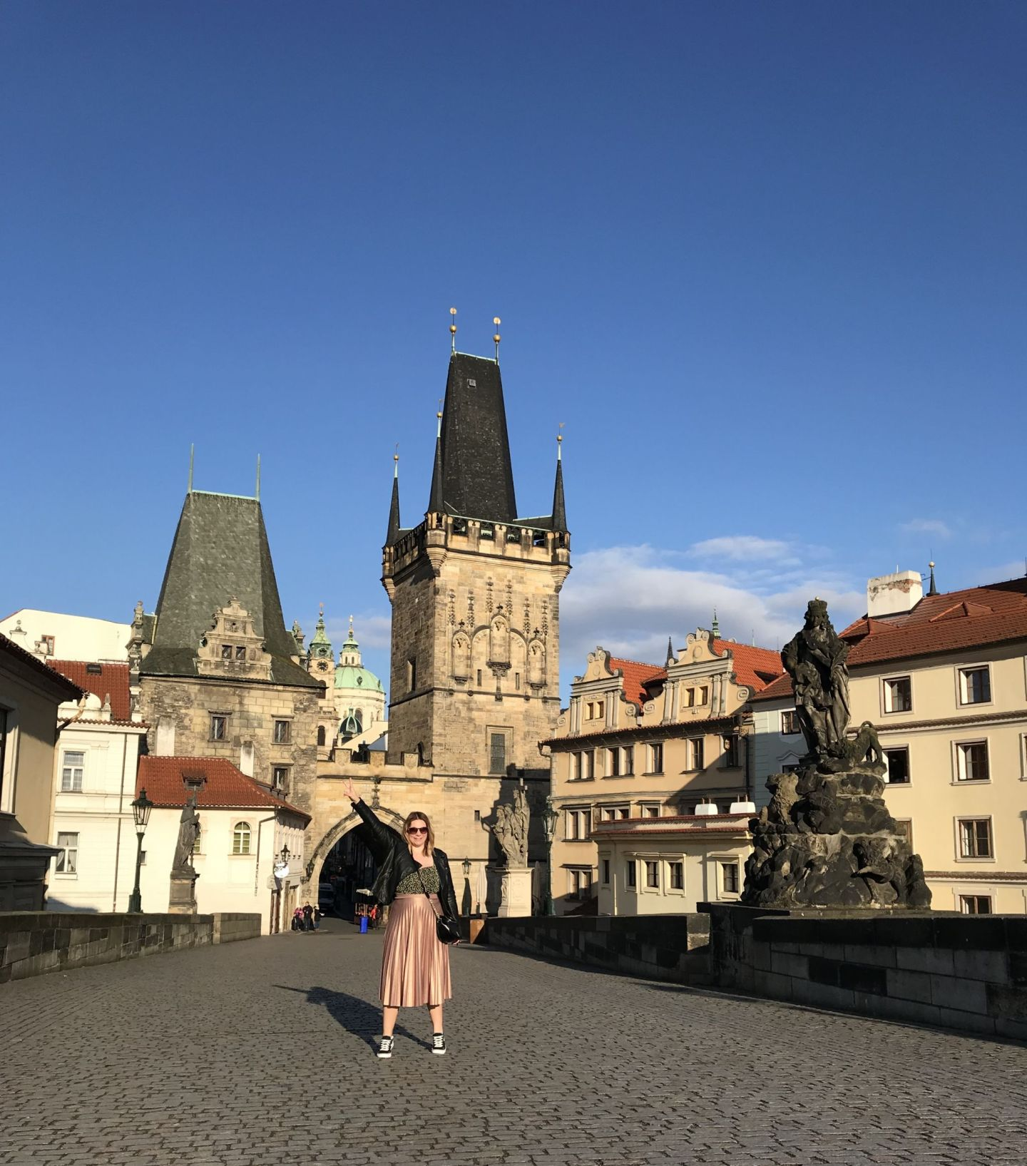 Charles Bridge Prague Instagram photo spots