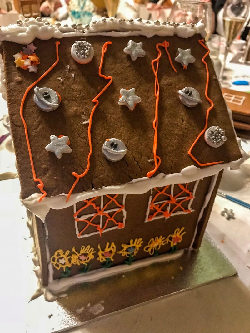 Wacky gingerbread house designs with Pandora and Maid of Gingerbread