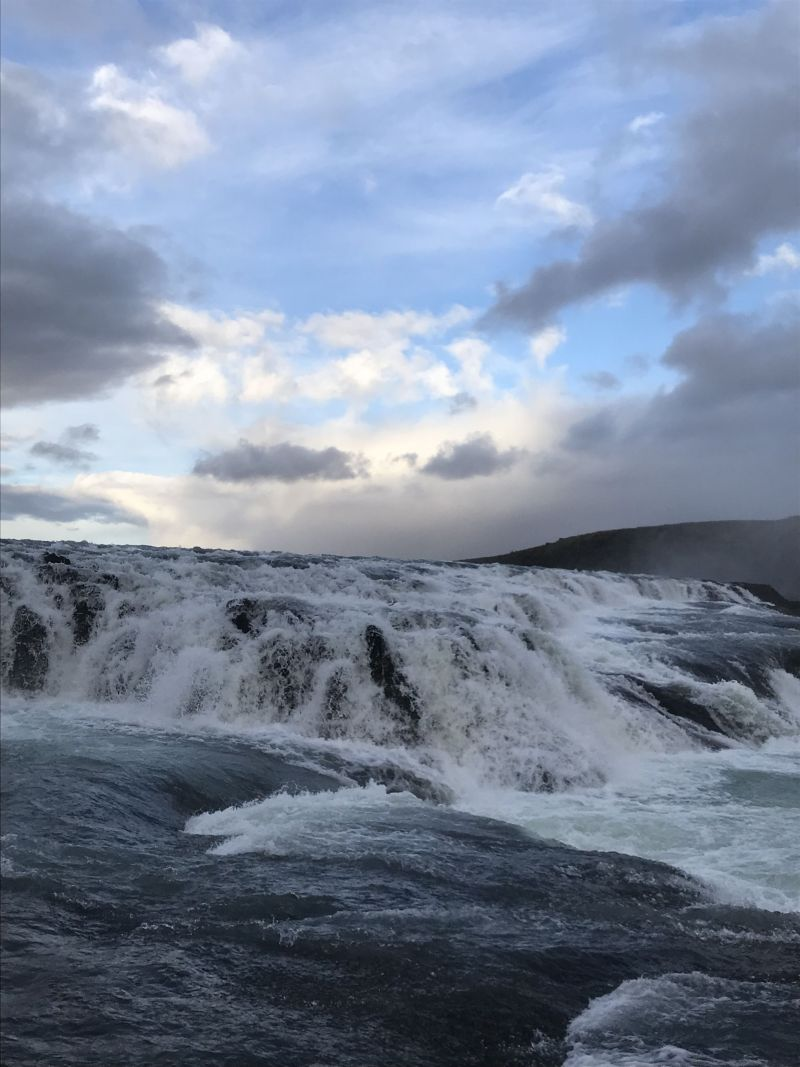 Magic and mighty Gullfoss Falls Iceland