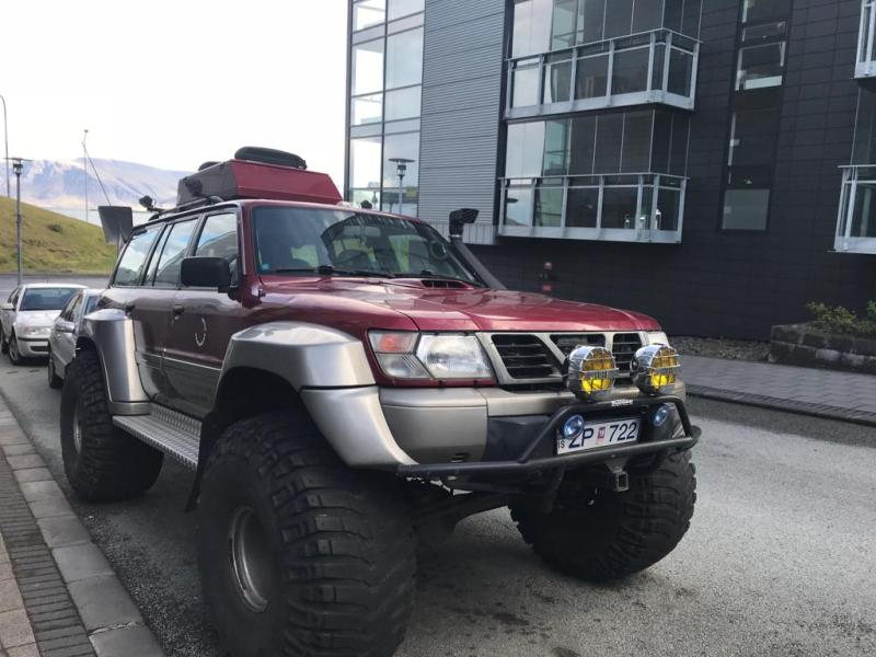 Monster 4x4 in Reykjavik Southern Iceland