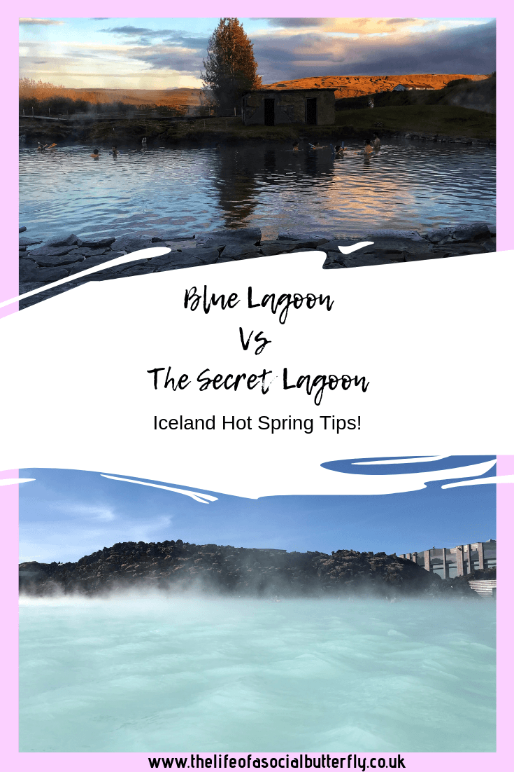 Blue Lagoon vs The Secret Lagoon - Iceland Hot Spring Tips