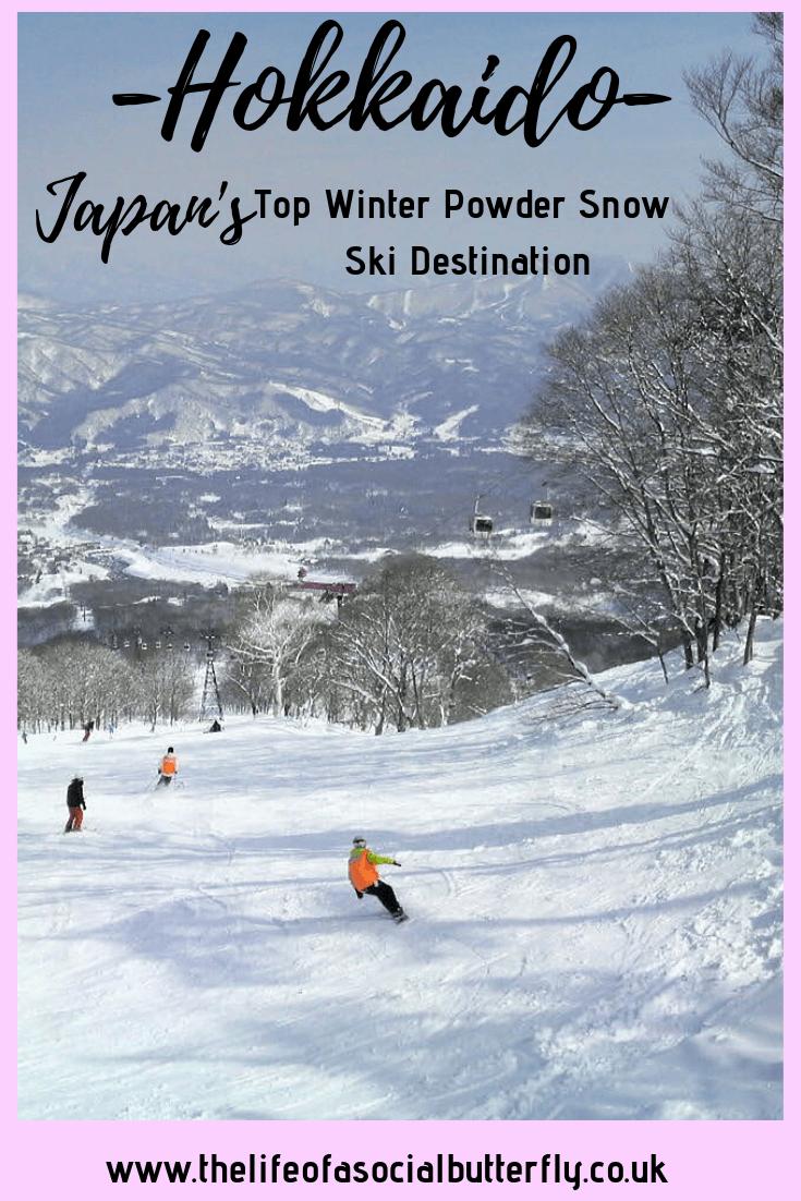 Pinterest Hokkaido Winter Event - Japan's powder snow & ski resorts