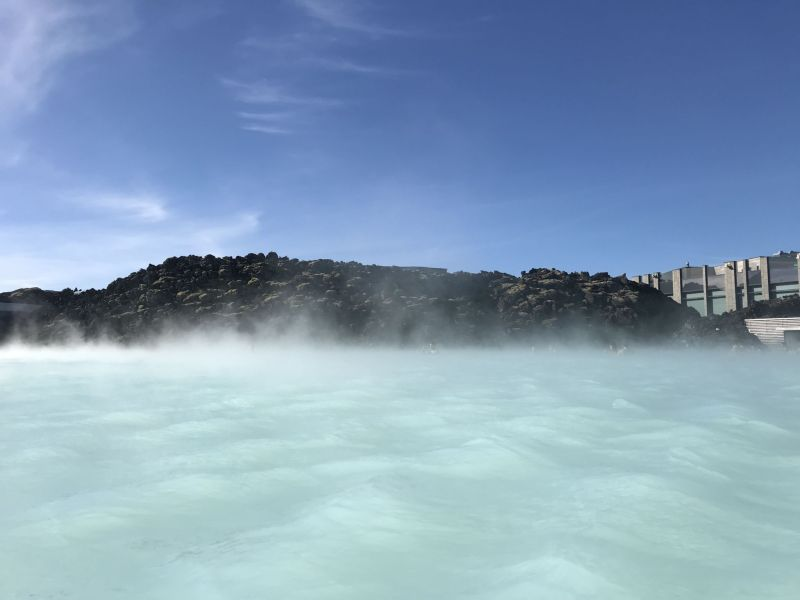 Relaxing in secluded spots at The Blue Lagoon