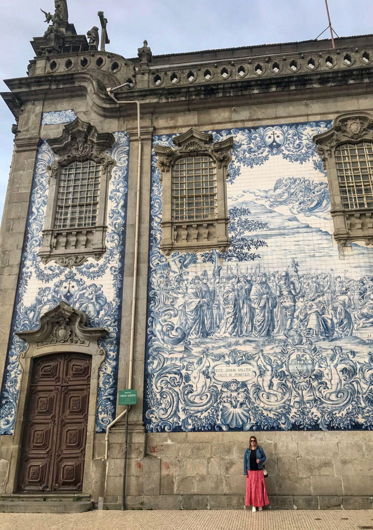 Carmo Church Azulejo tiles