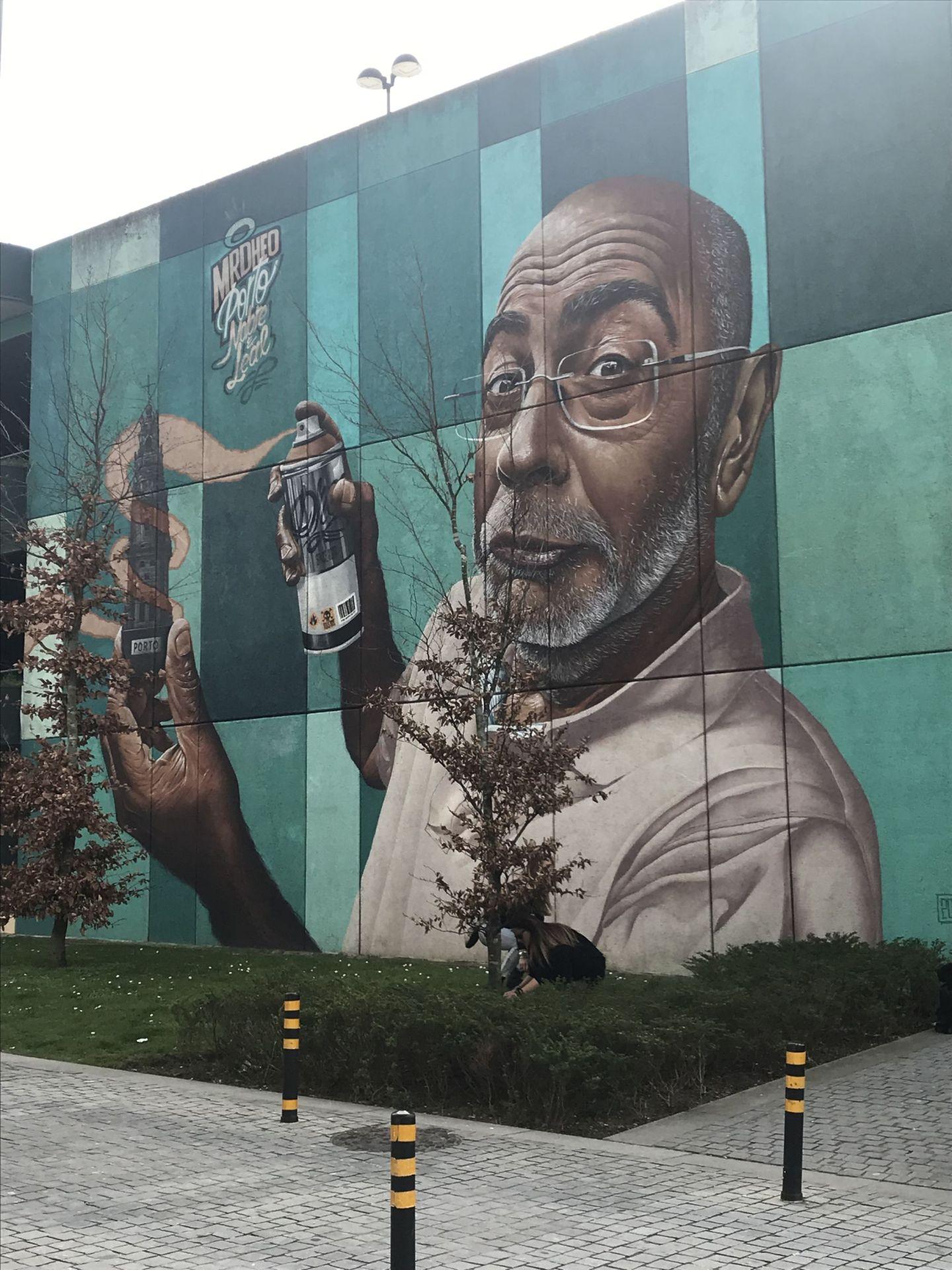 Cool graffiti street art Porto