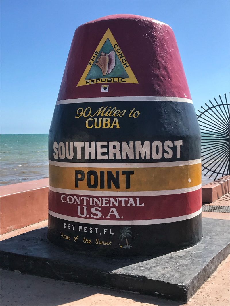 Key-West-Day-Trip-From_Miami-Southernmost-Point-Landmark-Key West