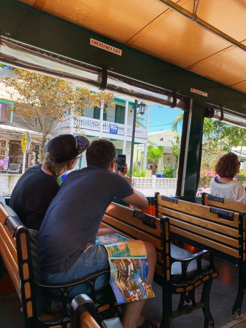 Things-to-do-in-Key-West-Old-town-trolley-tour