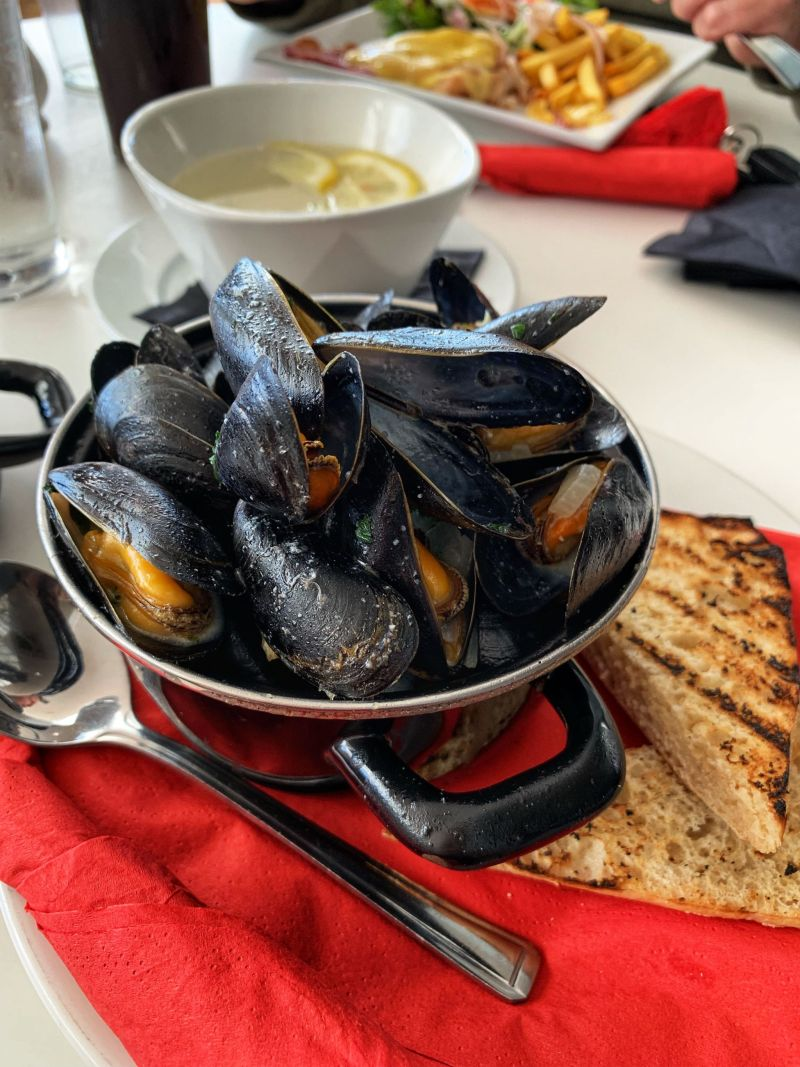 Mussels-Lands-End-Restaurant Cornwall