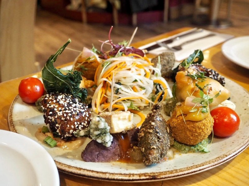 Terre-a-Terre-Restaurant-Brighton-sharing-platter
