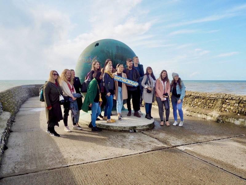 Traverse-Microgap-Visit-England-Brighton-Group-Photo