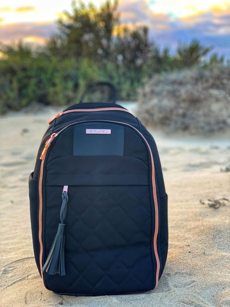The Travel Hack Backpack Review - Best Carry-On Bag for a Woman with Style