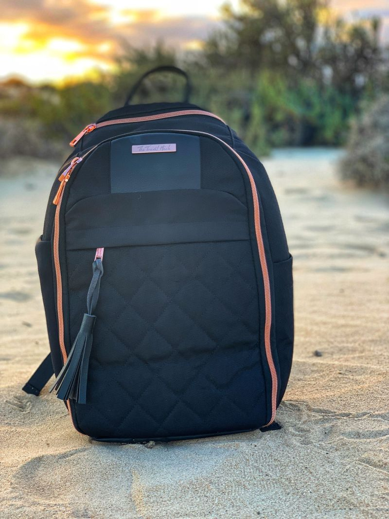 The Travel Hack Backpack - best carry-on bag for women who like to travel stylishly!