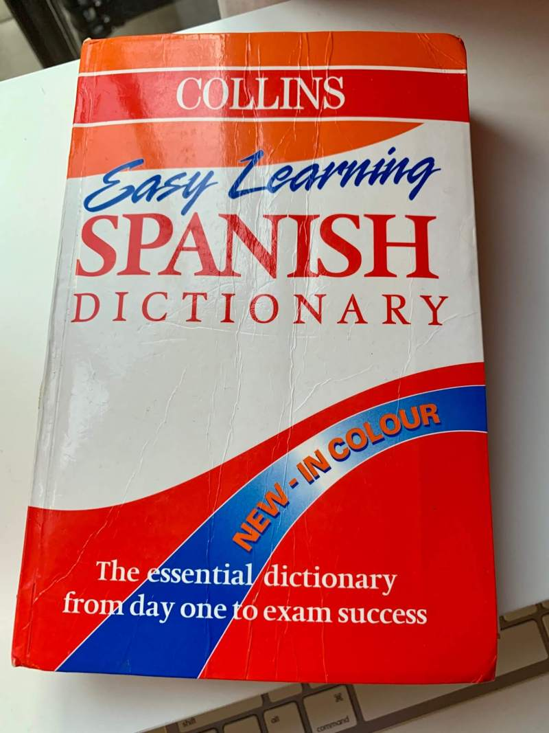 Collins-Easy-Learning-Spanish-Dictionary