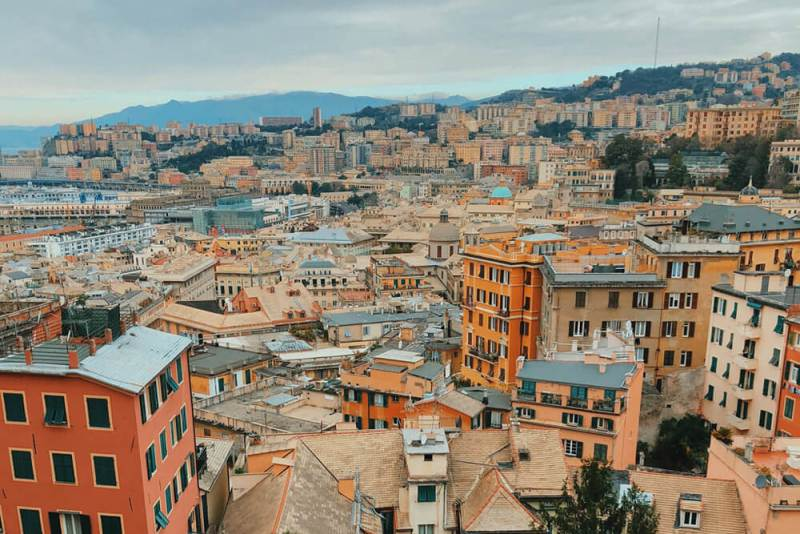 Genoa City View - Uncover Genoa's history - Italy Bucket List