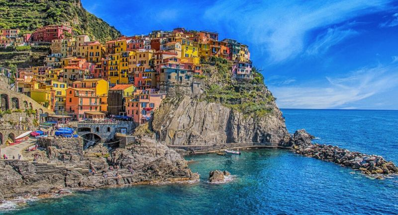 See the beautiful five fishing villages of Cinque Terre - Italy travel bucket list idea for things to do in Italy