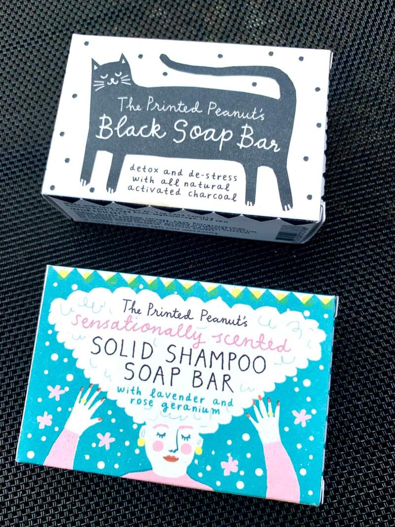 Use reusable soap and shampoo bars as travel toiletries rather than liquid plastic ones