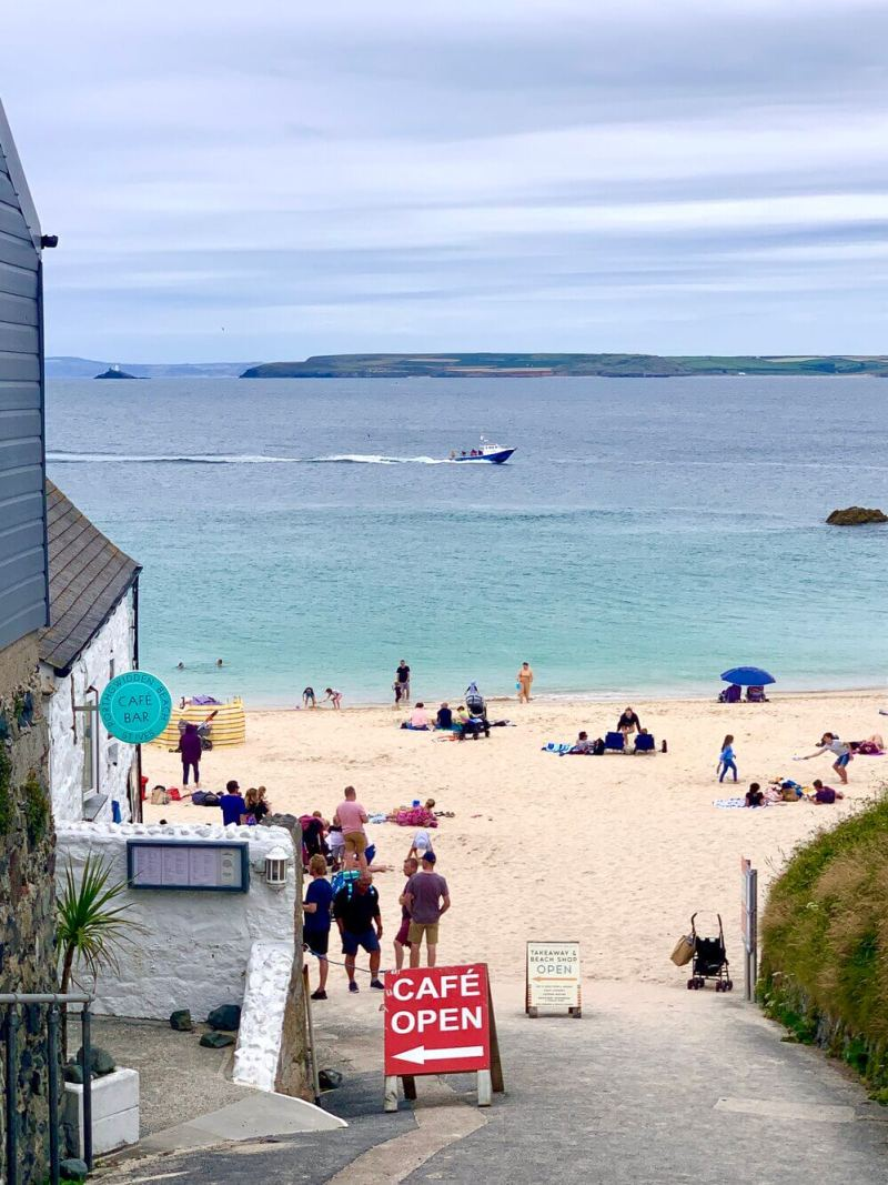 St Ives Porthgwidden Beach Cornwall