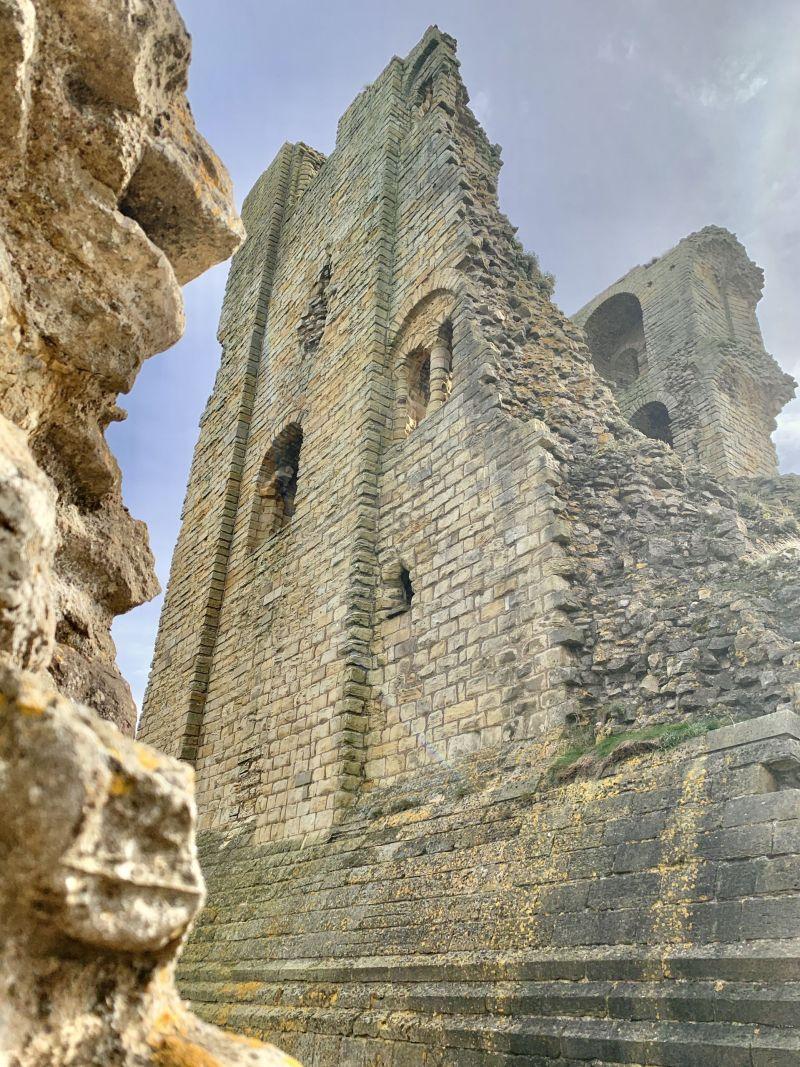 Scarborough Castle Ruins English Heritage Site