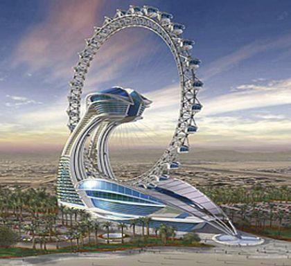 ¿Serán así los hoteles en el siglo XXII?