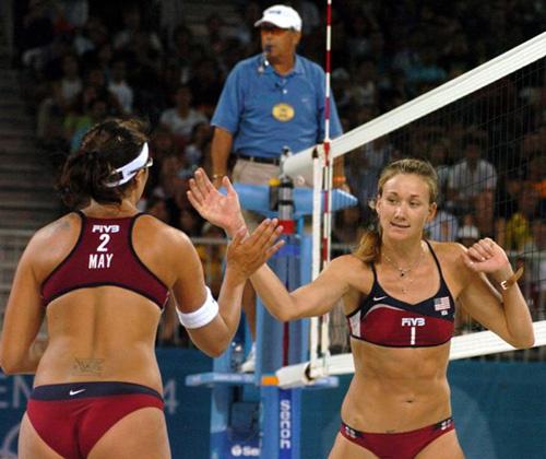 olympic beach volleyball photos