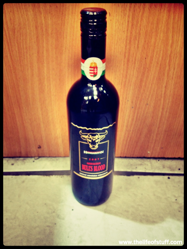 Bevvy Of The Week Bulls Blood