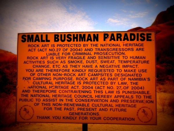 Bushman's Paradise